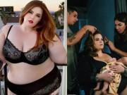 Thời trang - Người mẫu béo nhất thế giới khoe ảnh cho con bú