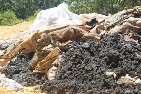 Vụ chôn bùn thải: Formosa khẳng định không liên quan