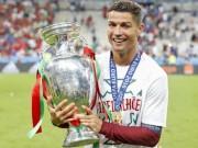 """Bóng đá - Vô địch Euro 2016, Ronaldo """"vàng 9999"""" hay kim cương đỏ?"""