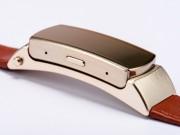Công nghệ thông tin - Vòng đeo tay thông minh dây da, tích hợp loa bluetooth