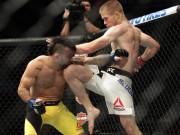 """Thể thao - UFC: """"Tay ngắn lưng còng"""" đấm cú nào ra cú đó"""