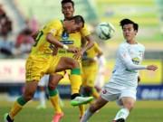 Bóng đá - V-League: Nhóm đèn đỏ tìm đường đào thoát