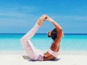 Làm đẹp - Ngất ngây với thân hình siêu mẫu của cô nàng mê yoga