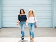 Thời trang - Bạn đã biết mặc quần jeans lửng đúng cách?