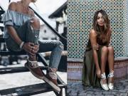 Thời trang - Giày đế cói – Không mê cũng không được!