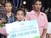 Ca nhạc - MTV - Hồ Văn Cường ngơ ngác giành chiến thắng Vietnam Idols Kid
