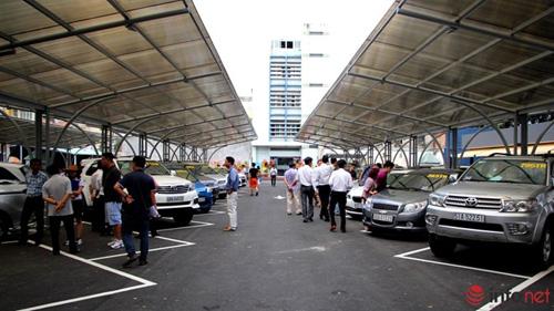 Tham quan chợ xe hơi theo kiểu Mỹ tại TP.HCM