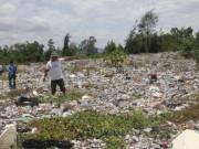 Tin tức trong ngày - Hà Tĩnh phát hiện gần 10 điểm đổ trộm chất thải