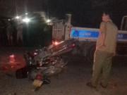 Tin tức trong ngày - Tai nạn, hai xe máy cắm chặt vào nhau, 1 người tử vong