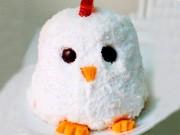 Ẩm thực - Cách làm bánh kem gà bông đẻ trứng sô cô la