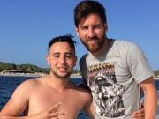 Bóng đá - Fan Atletico bơi 1km, được Messi mời lên du thuyền