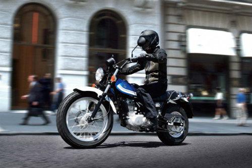 Soi Suzuki VanVan 200 mới giá 102 triệu đồng