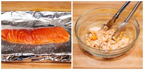 Bữa sáng sang chảnh với cơm rang cá hồi - 1