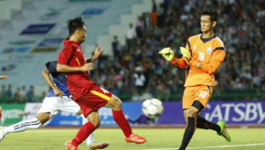 U16 Việt Nam - U16 Campuchia: Bản lĩnh thép