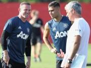 Bóng đá - MU du đấu: Mourinho cười tươi như hoa với Rooney