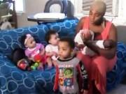 Bạn trẻ - Cuộc sống - Hạnh phúc của người mẹ 20 tuổi và 3 lần sinh đôi