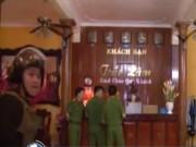 """Video An ninh - Phá """"động"""" mại dâm trá hình chấn động Thái Binh"""