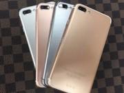 Dế sắp ra lò - 4 phiên bản màu sắc khác nhau của iPhone 7 Plus