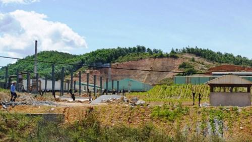 Cận cảnh nhà máy xử lý rác thải Formosa khiến dân phải bỏ đi