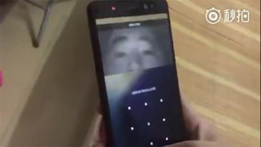 Video mở khóa Galaxy Note 7 bằng công nghệ quét võng mạc