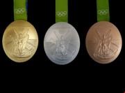 Thể thao - Ý nghĩa và chất liệu của những tấm huy chương Olympic Rio
