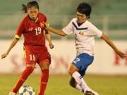 Bóng đá - Tuyển nữ quyết vô địch AFF Cup