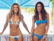 Làm đẹp - Cách để mặc bikini cực đẹp của cặp mỹ nhân phòng gym