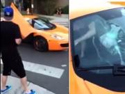 Bạn trẻ - Cuộc sống - Bé trai cầm ván trượt đập vỡ kính siêu xe gần 6 tỷ