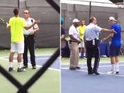 """Thể thao - 2 siêu quậy tennis nổi điên """"sống mái"""" với cảnh sát"""