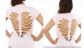 Clip: Tự làm áo khoét hình trái tim sành điệu