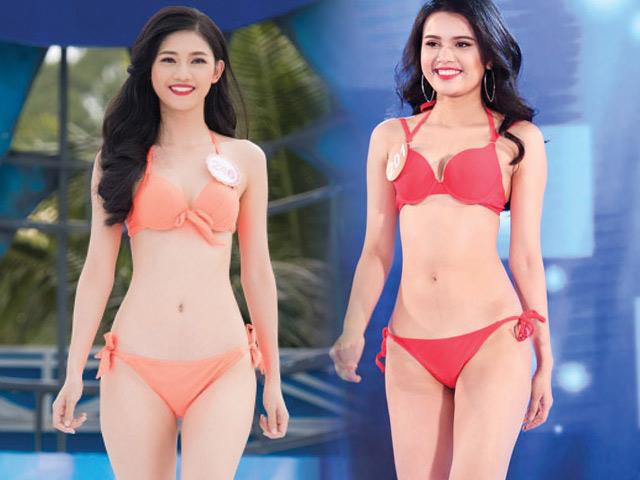 2 em gái hoa, á hậu gây chú ý ở đấu trường sắc đẹp VN
