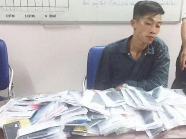 Một giờ trộm được 120 chiếc điện thoại