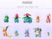 Công nghệ thông tin - Đã có người chơi chinh phục 142 con Pokemon
