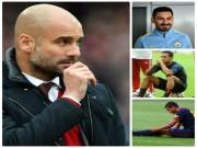 """Bóng đá - Man City: Guardiola và nỗi ám ảnh """"thương binh"""""""