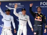 Thể thao - F1: Phân hạng Hungarian GP – Rosberg đoạt pole