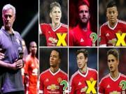 Bóng đá - Mourinho thanh lọc MU: 3 chắc chắn đi, 8 bấp bênh