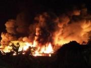 Tin tức trong ngày - Cháy lớn tại nhà máy sản xuất nến Hải Phòng