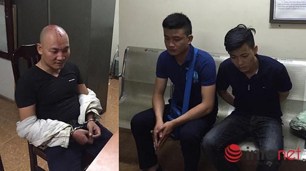 """Ba thanh niên lao vào hỗn chiến vì cho rằng """"nhìn đểu"""" nhau"""