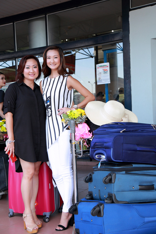 Mỹ nhân lai rạng rỡ dự vòng chung kết HH Bản sắc Việt - 3