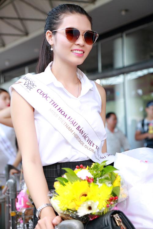 Mỹ nhân lai rạng rỡ dự vòng chung kết HH Bản sắc Việt - 5