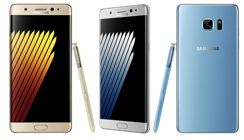 Galaxy Note 7 có camera 12MP, dùng pin 3.500 mAh