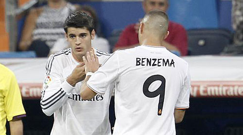 "Real: Vắng CR7, Zidane dùng ""song tấu"" Benzema–Morata"