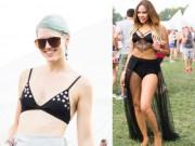 Thời trang - Áo lót, bikini, váy siêu ngắn tràn ngập lễ hội âm nhạc