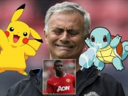 "Bóng đá - MU & cuộc đuổi bắt ""Pokemon"" Paul Pogba"