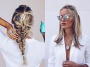 Thời trang - 3 kiểu tóc dễ làm lại sành điệu cho những chuyến du lịch