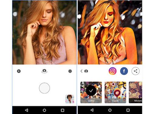 Ứng dụng sửa ảnh Prisma đã có cho Android - 1