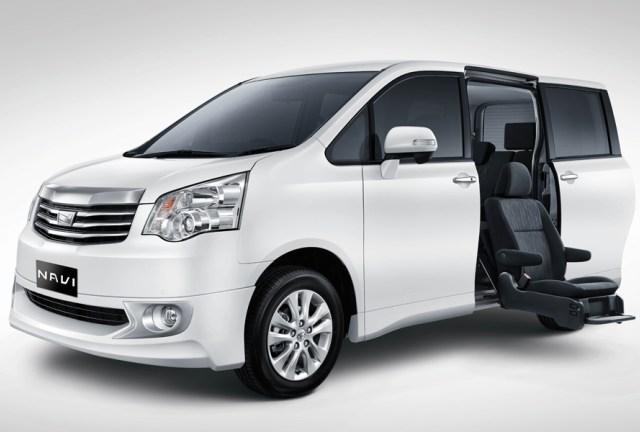 Toyota Nav1 Welcab đặc biệt chính thức được giới thiệu