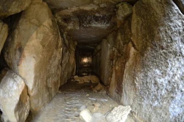 Tìm thấy đường hầm