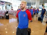 Bóng đá - Messi với mái tóc gây bão hội quân cùng Barca