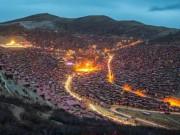 Du lịch - Ngắm vẻ tuyệt đẹp của Larung Gar - Thung lũng Phật giáo sắp bị phá bỏ